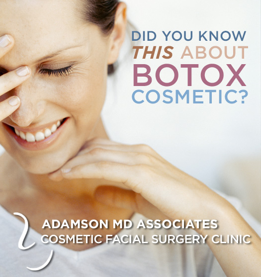 Toronto Botox, did you know this about botox cosmetic?