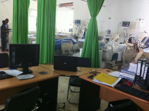 Mission to Rwanda -New ICU at the Military Hospital