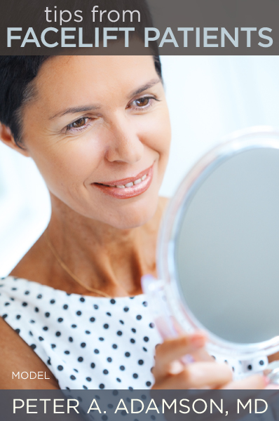 Tips From Facelift Patients
